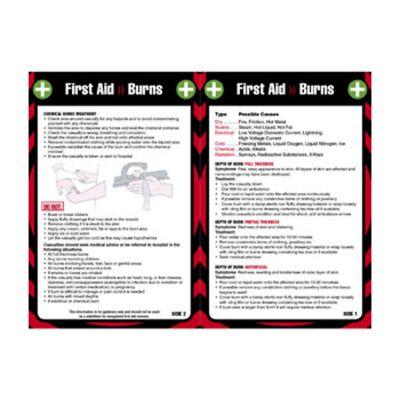 Laminated Pocket Guide (Burns)