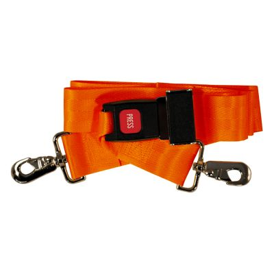 Speed Clip Restraint Strap with Seat Belt Buckle (Set of 4)