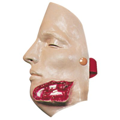 Bleeding Moulage (Jaw Wound)