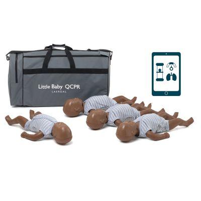Laerdal Baby Anne QCPR Training Manikin - Dark Skin (Pack of 4)