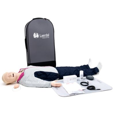 Laerdal Resusci Anne First Aid Full Body Manikin (w/ Case)