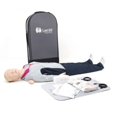Laerdal Resusci Anne QCPR Manikin Rechargeable (Full Body)
