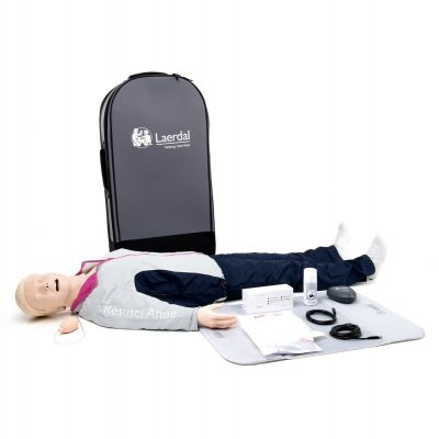 Laerdal Resusci Anne QCPR Manikin Rechargeable (Full Body with Airway Head)