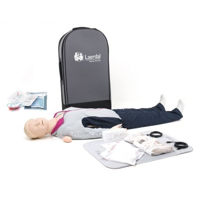 Laerdal Resusci Anne QCPR AED Manikin Rechargeable (Full body)