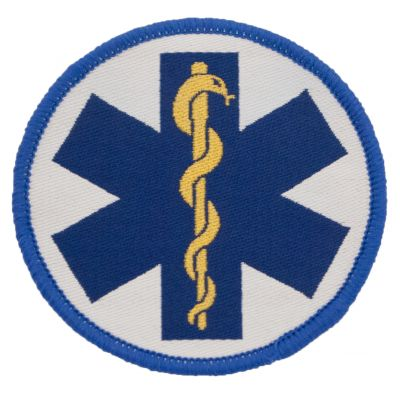 7cm Embroidered Patch (Star of Life)