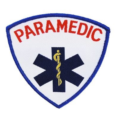 Embroidered Shield (Star of Life - Paramedic)