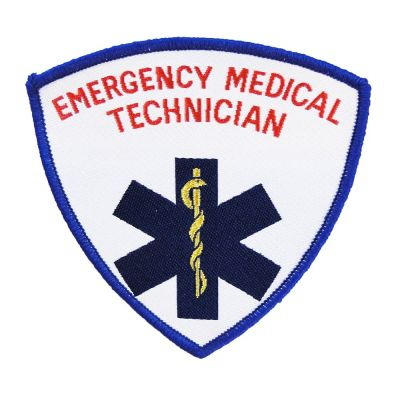 Embroidered Shield (Star of Life - EMT)