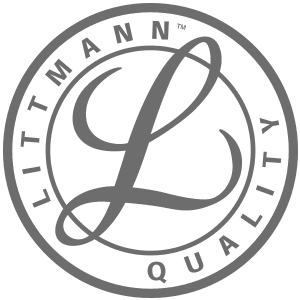 Greyscale Littman logo